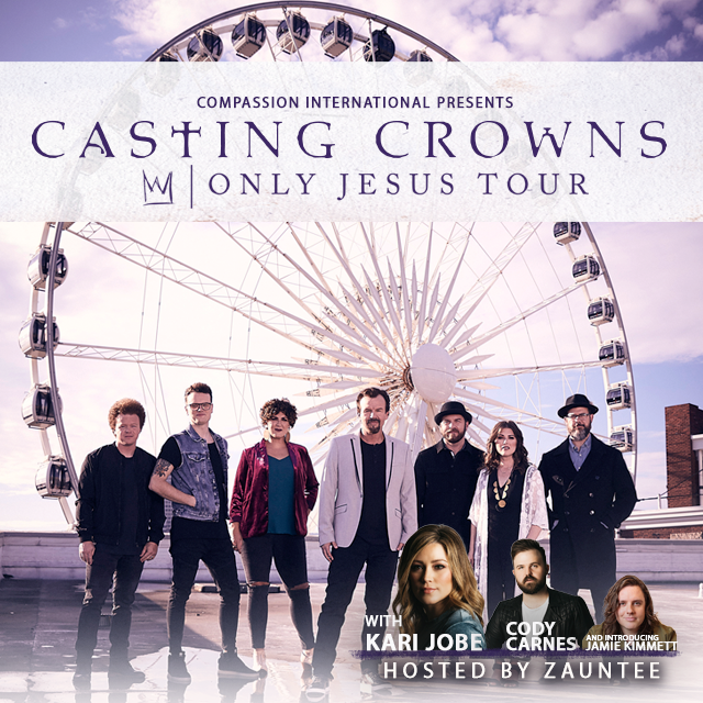Casting Crowns Ticket Giveaway!